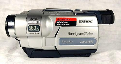 Videocámara Sony Handycam Vision Trv318 560x Descompuesta