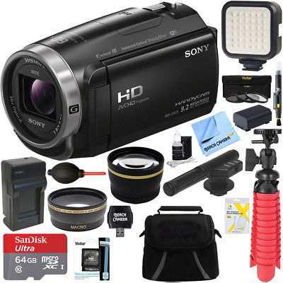 Videocámara Sony Hdr-cx675/b Full Hd + Mini Zoom De