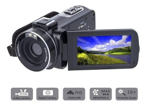 Videocámara Sosun Hd 1080p 24.0mp 15fps Lcd 270 16x