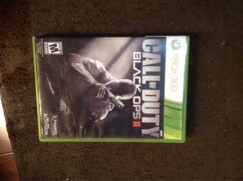 Videojuego Callofduty Black Ops 2 Para Xbox 360