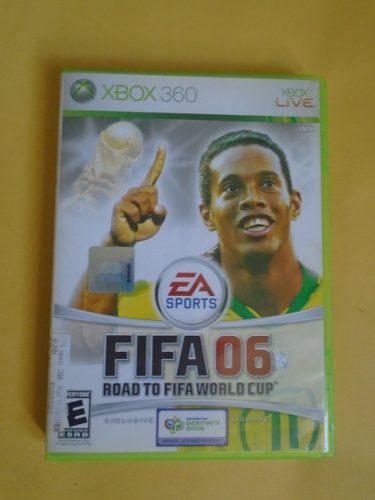 Videojuego Fifa 06 Road To Fifa World Cup Xbox 360