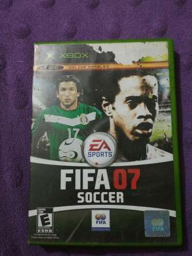 Videojuego Fifa 07 Xbox Y Xbox 360