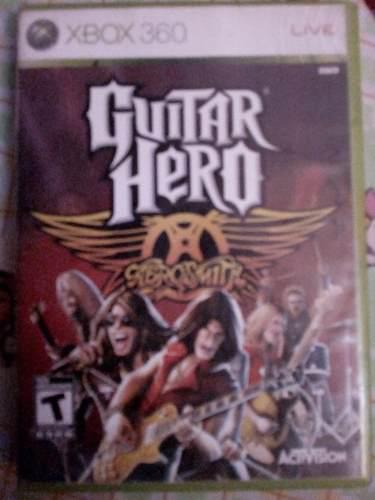 Videojuego Guitar Hero Aerosmith Para Xbox 360