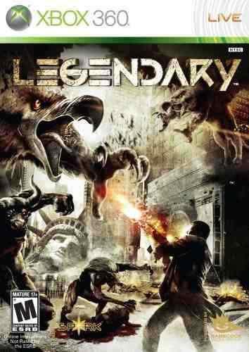 Videojuego: Legendary Para Xbox 360 - Nuevo Original Sellado