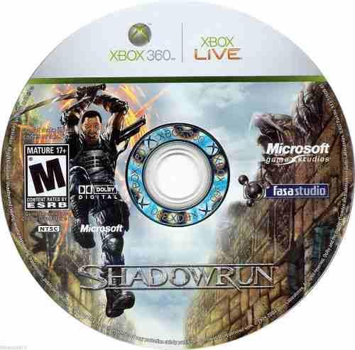 Videojuego Shadowrun Para Xbox 360 Usado Blakhelmet C