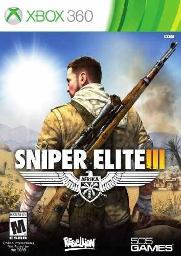 Videojuego Sniper Elite Iii, Edición Estándar - Xbox 360