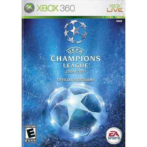 Videojuego Uefa Champions League 2006-2007 (xbox 360)