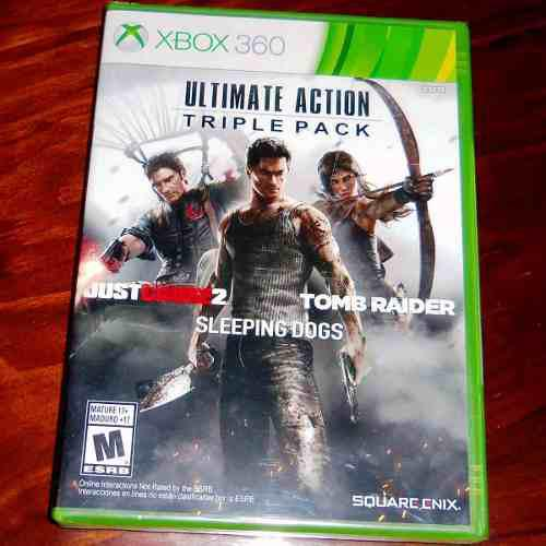 Videojuego Ultimate Action Triple Pack Xbox 360 Sellado