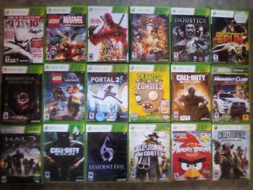Videojuegos Para Xbox 360 Diferentes Titulos A Escojer