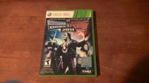 Wwe Smackdown Vs Raw 2011 Limited Edition Xbox 360