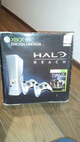 Xbox 360 Edición Halo Reach + El Juego De Ben 10