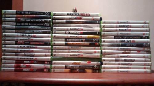 Xbox 360 Lote De 61 Juegos Xbox 360