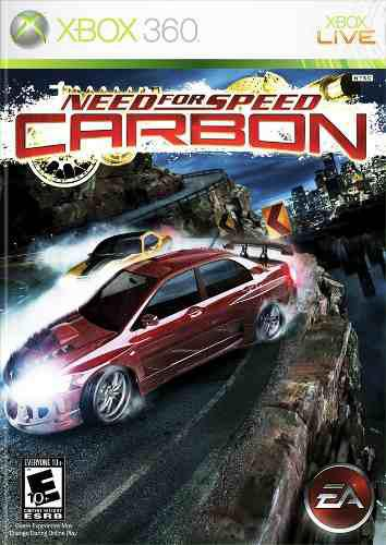 Xbox 360 - Need For Speed Carbon - Juego Fisico Mercado Pago
