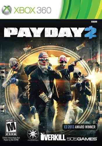 Xbox 360 Payday 2 Video Juego Nuevo Facturamos !!