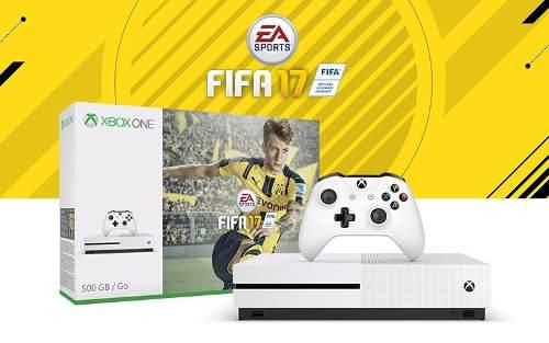 Xbox One S 500 Gb 1 Control 1 Videojuego Fifa 17 Nuevo