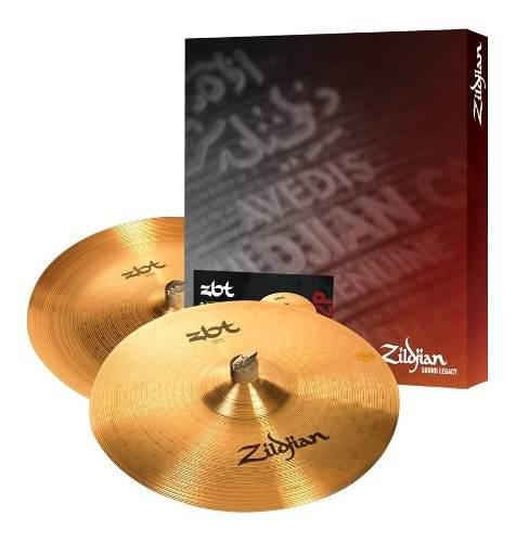 Zildjian Zbt Expander Pack Platillos P/bateria Envio Gratis