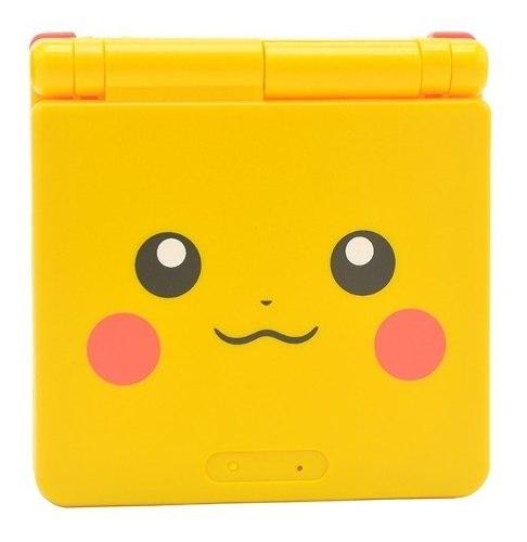 Carcasa Completa Edicion Pikachu Gba Sp Gameboy Pokemon