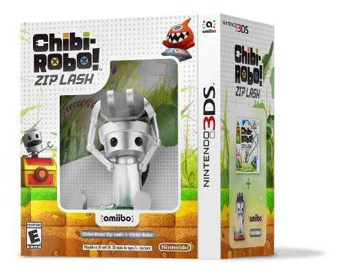 Chibi Robo Zip Lash Con Amiibo Caja Dañada (d3 Gamers)