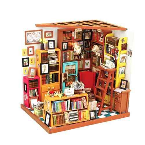 1:24 Casa De Muñecas En Miniatura Diy Príncipe Casa De Mu