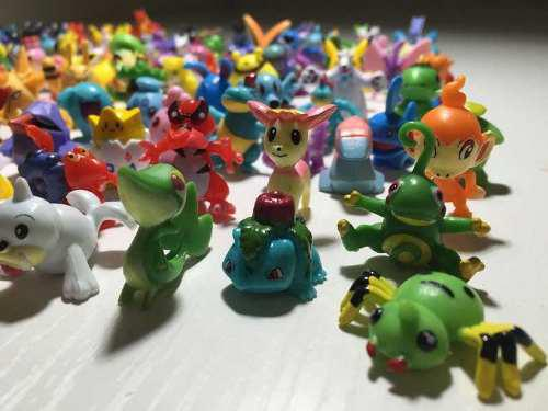 24 Figuras Pokemon Juguetes Set Al Azar Pikachu Japones