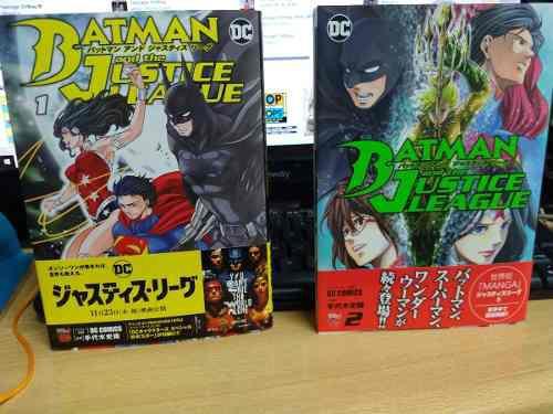 Batman Y La Liga De La Justicia Manga Tomo1 Y 2 Japones
