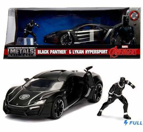 Black Panther Lykan Hypersport Jada 1:24 Super Oferta!