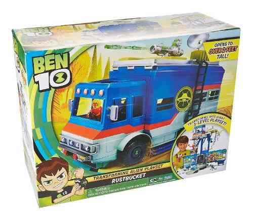 Camión Ben 10 Rustbucket Transforming Vehicule Playset
