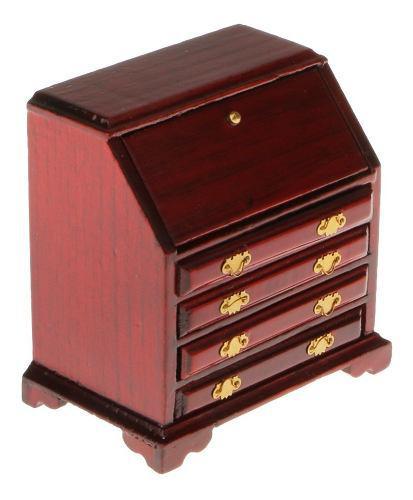 Casa De Muñecas En Miniatura Muebles Cajón De Armario Made