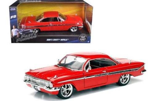 Chevy Impala Jada Rápido Y Furioso 1:24