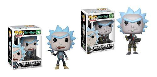 Combo 2 Piezas Rick And Morty Funko Pop 339 + Funko Pop 172