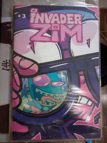 Comics Y Mangas Rick Y Morty, Invader Zim Y Ajin