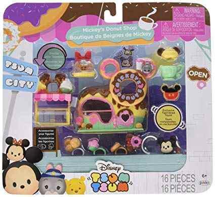 Donuts Tienda Establecer Figuras De Juguete En Miniatura De