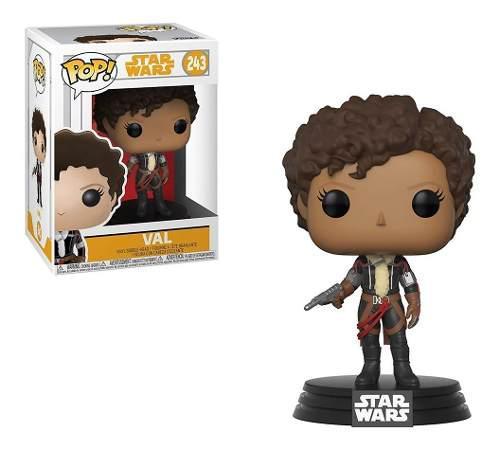 Figura Coleccionable Funko Pop Star Wars Han Solo Movie Val