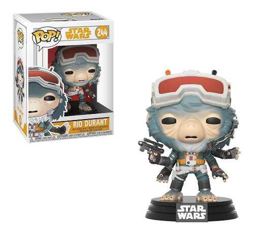 Figura Coleccionable Funko Pop Star Wars Han Solo Rio Durant