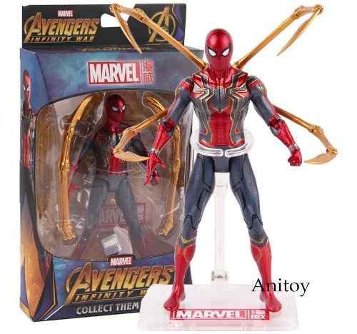 Figura De Acción Spider Man Marvel Avengers Licencia Genui