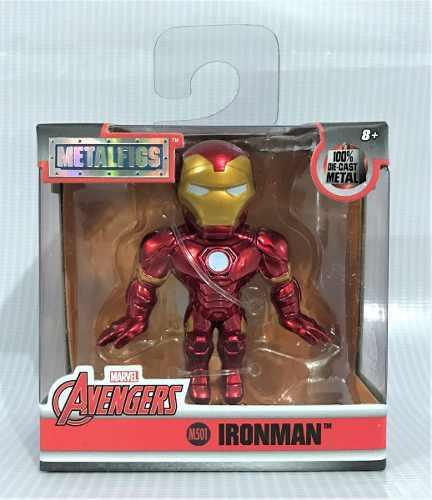Figura Ironman De Metal Marvel Avengers Metalfigs 2.5