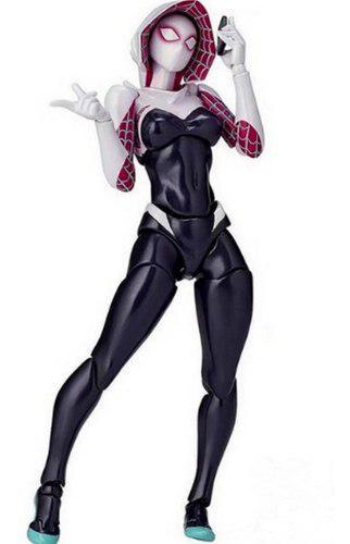 Figura Spidergwen, Gwen Stacy Versión Revoltech Ko