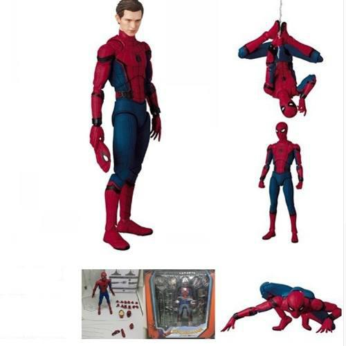 Figura Spiderman Versión Mafex Ko Caja Dañada