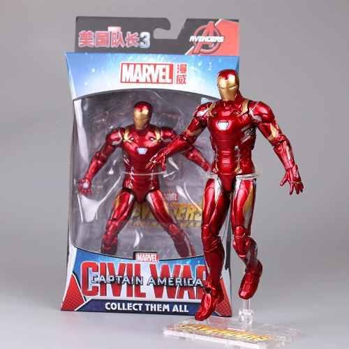 Figuras Avengers Iron Man Modelo Juguete De Colección 18cm