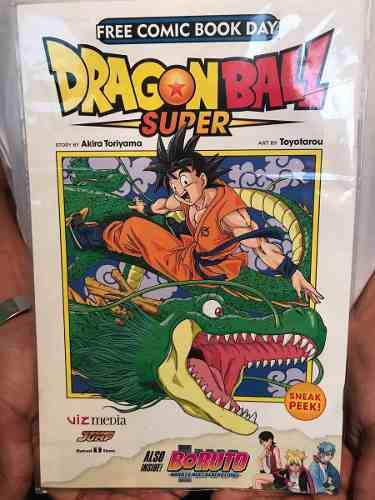Free Comic Book Day Dragon Ball Super Y Boruto