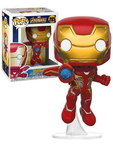 Funko Pop Marvel Avengers Infinity War Iron Man 285 Vengador