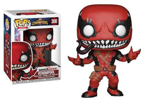 Funko Pop Marvel Venompool 300 Venom Deadpool Contest Of Cha
