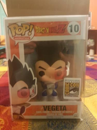 Funko Pop Vegeta Comic Con