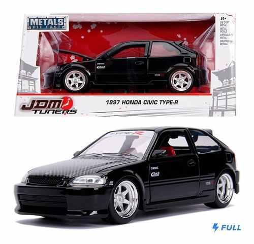 Honda Civic Typer-r 1997 Jada 1:24 Ngo Sellado Oferta !