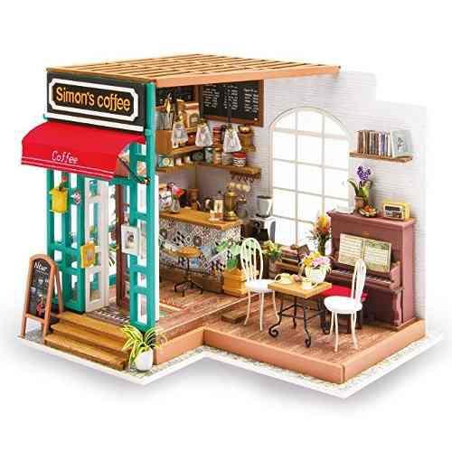 Kit Robotime Bricolaje Casa De Muñecas En Miniatura Kits