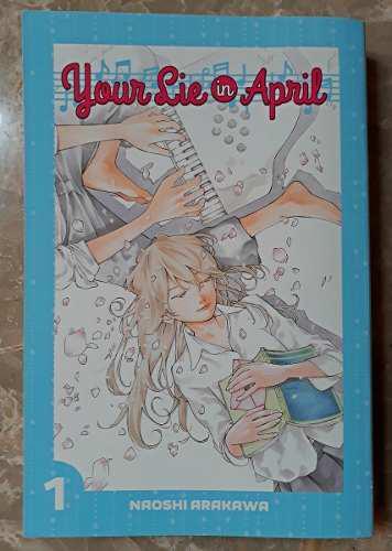 Manga Your Lie In April Vol. 1 Edición Loot Crate