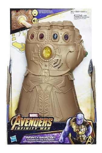 Marvel Avengers Infinity War Guante Thanos Electrónico