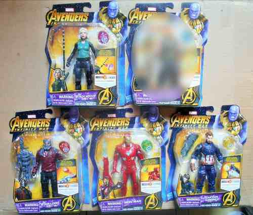 Marvel Avengers Infinity War Hero Vision Con Gema C/u