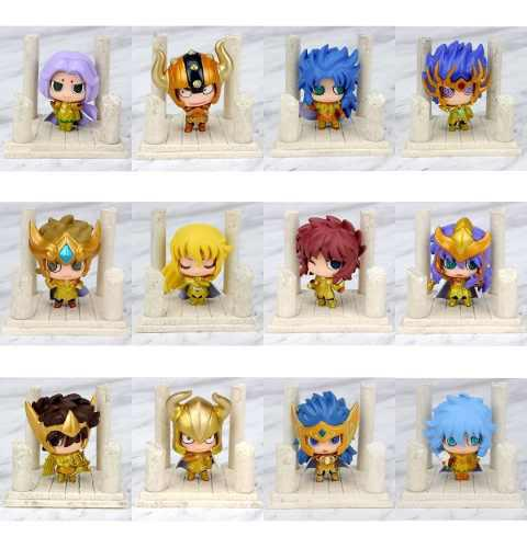 Mini Caballeros Del Zodiaco Dorados Saint Seiya Envío