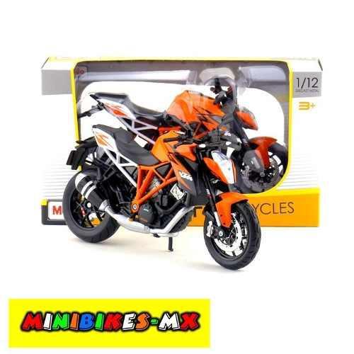 Moto De Colección Ktm 1290 Superduke R Escala 1:12 Maisto